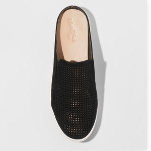 Women's Universal Thread Black Open Back Sneakers